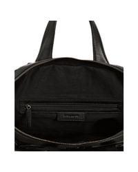 Givenchy - Black Grommet Nylon Nightingale Medium Top Handle Bag - Lyst