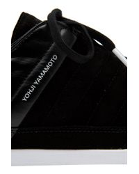 Y-3 | Black Honja Low Trainer for Men | Lyst