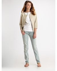 Tory Burch | Green Gordie Jacket | Lyst