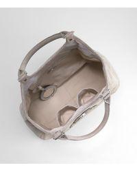 Tory Burch - Metallic Printed Lizard Amanda Shopper - Lyst