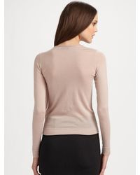 Valentino - Black Knit Godet-back Pencil Skirt - Lyst
