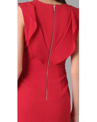 Rachel Roy - Red Draped Dress - Lyst