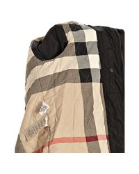 Burberry | Brit Black Nylon Windbreaker Jacket for Men | Lyst