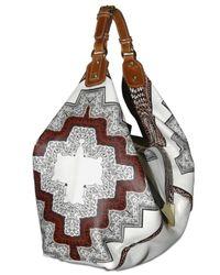 Etro | Multicolor Printed Leather Shoulder Bag | Lyst