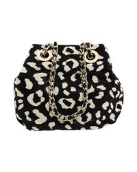 kate spade new york | Black Lissy Printed Goat Hide Crossbody Bag | Lyst