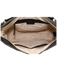 kate spade new york - Black Gold Coast Medium Serena Shoulder Bag - Lyst
