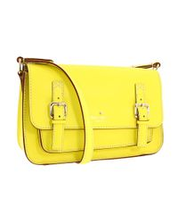 kate spade new york | Yellow Essex Street Scout Shoulder Bag | Lyst