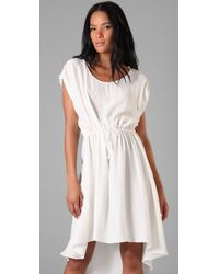Robert Rodriguez | White Handkerchief Dress | Lyst