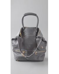 See By Chloé | Gray Tomo Convertible Small Shoulder Bag | Lyst