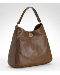 Tory Burch | Brown Dena Hobo | Lyst