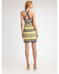 M Missoni | Yellow Striped Knit Sundress | Lyst