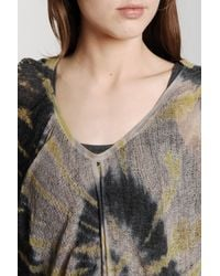 Raquel Allegra | Multicolor Butterfly Top in Shell | Lyst