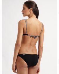 Rosa Cha - Black Tied Bikini Bottom - Lyst