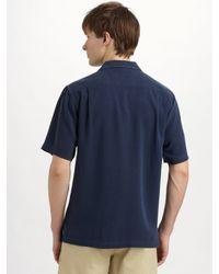 Nat Nast | Blue Rumor Silk Sportshirt for Men | Lyst