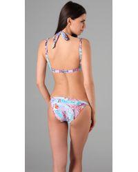 Seventh Wonderland | Blue Rever Triangle Bikini | Lyst
