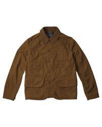 Polo Ralph Lauren | Brown Sand Corduroy Collar Hunting Jacket for Men | Lyst