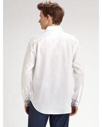 Robert Graham | White Zouk Sportshirt for Men | Lyst