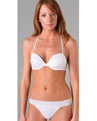 Calvin Klein | White Ck One Convertible T-shirt Bra | Lyst