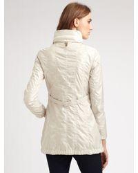 Mackage | White Packable Long Raincoat | Lyst