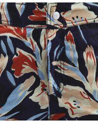 Paul Smith | Blue Floral Print Swim Shorts for Men | Lyst