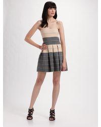 Pleasure Doing Business | Gray Petti Pleated Dress | Lyst
