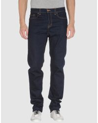 J Brand - Blue Denim Trousers for Men - Lyst
