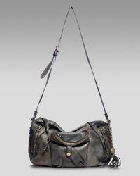 Olivia Harris - Purple Garment Washed Crossbody Bag - Lyst