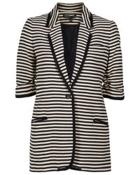 Elizabeth and James | Black Preppy James Striped Blazer | Lyst