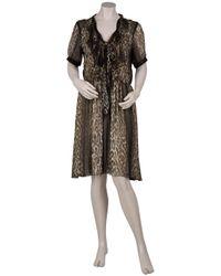 Jason Wu - Multicolor Okal Leopard Print Chiffon Dress - Lyst