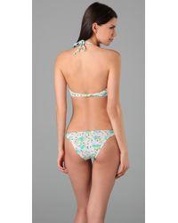Salt Swimwear | Blue Giselle Bikini Top | Lyst
