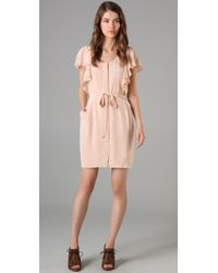 Club Monaco | Pink Tracey Dress | Lyst