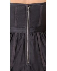 Club Monaco - Gray Tess Dress - Lyst