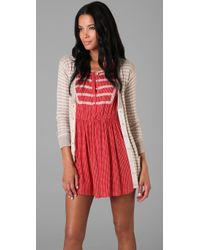 Marc By Marc Jacobs - Red Aurelie Cardigan Sweater - Lyst
