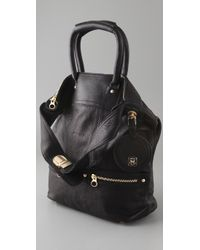 See By Chloé - Black Tomo Convertible Small Shoulder Bag - Lyst