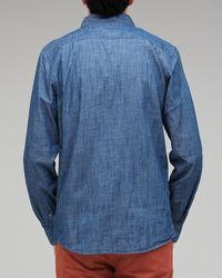 Penny Stock - Blue Penny Chambray for Men - Lyst