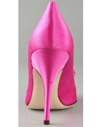 kate spade new york | Pink Lilah Tapered Toe Pumps | Lyst