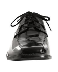 Kenneth Cole - Black Leather 'recount' Oxfords for Men - Lyst