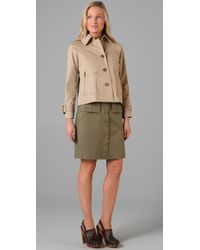Tory Burch | Green Curtis Jacket | Lyst