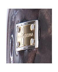 Dolce & Gabbana | Brown Rubber Leopard Print Rainboots | Lyst