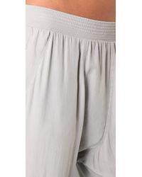 Superfine - White Chase Silk Pants - Lyst