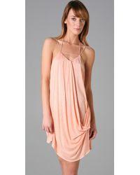 T-bags - Pink Mini Dress - Lyst