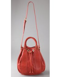 Tory Burch | Red Jamie Small Bucket Tote | Lyst