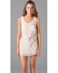 Vena Cava - Natural Rational Tank Dress - Lyst