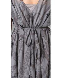 Vena Cava - Gray Aldo Hankerchief Dress - Lyst