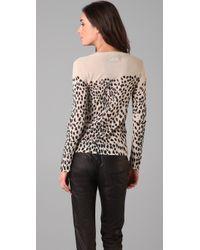 Markus Lupfer - Multicolor Wild Cat Sweater - Lyst