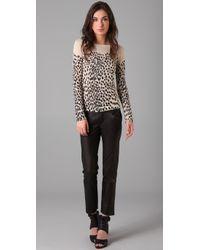Markus Lupfer | Multicolor Wild Cat Sweater | Lyst