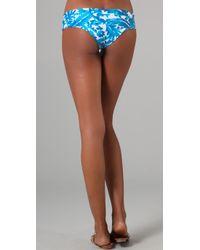 Mikoh Swimwear - Blue Bali Basic Booty Bikini Bottoms - Lyst