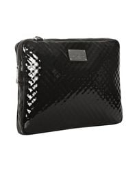Rebecca Minkoff - Black Patent Leather Virginia Laptop Messenger Bag - Lyst