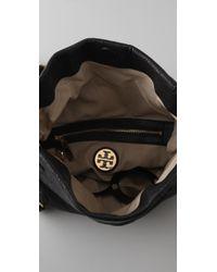 Tory Burch - Black Louisa Messenger Bag - Lyst