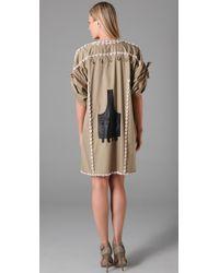 By Malene Birger | Green Kalilia Oversized Shell Dress | Lyst
